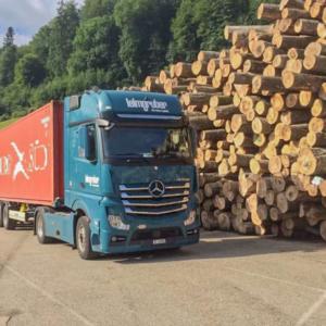 Leimgruber - Container Transport bei Nussbaumer